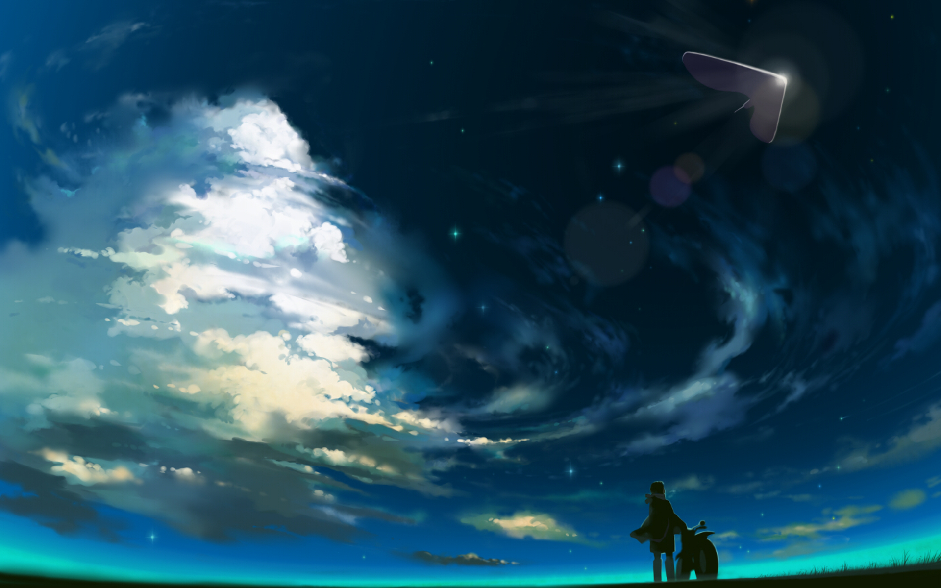Beautiful HD Anime Wallpaper - WallpaperSafari