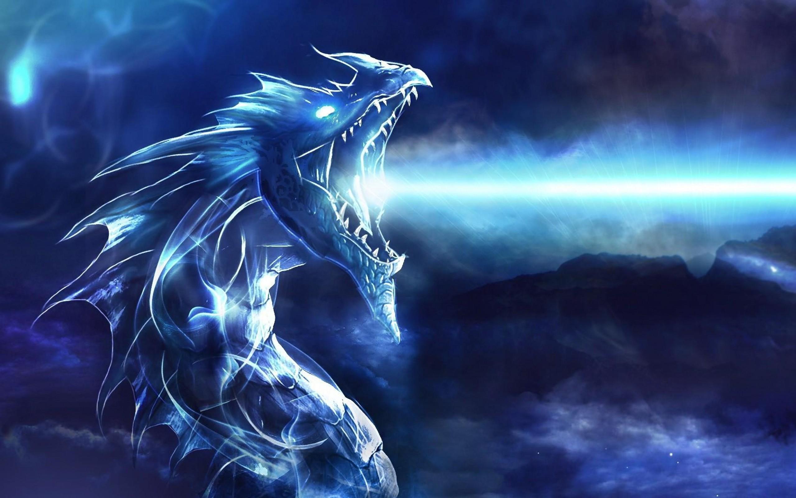 Blue Dragon Desktop Wallpaper   New HD Wallpapers 2560x1600