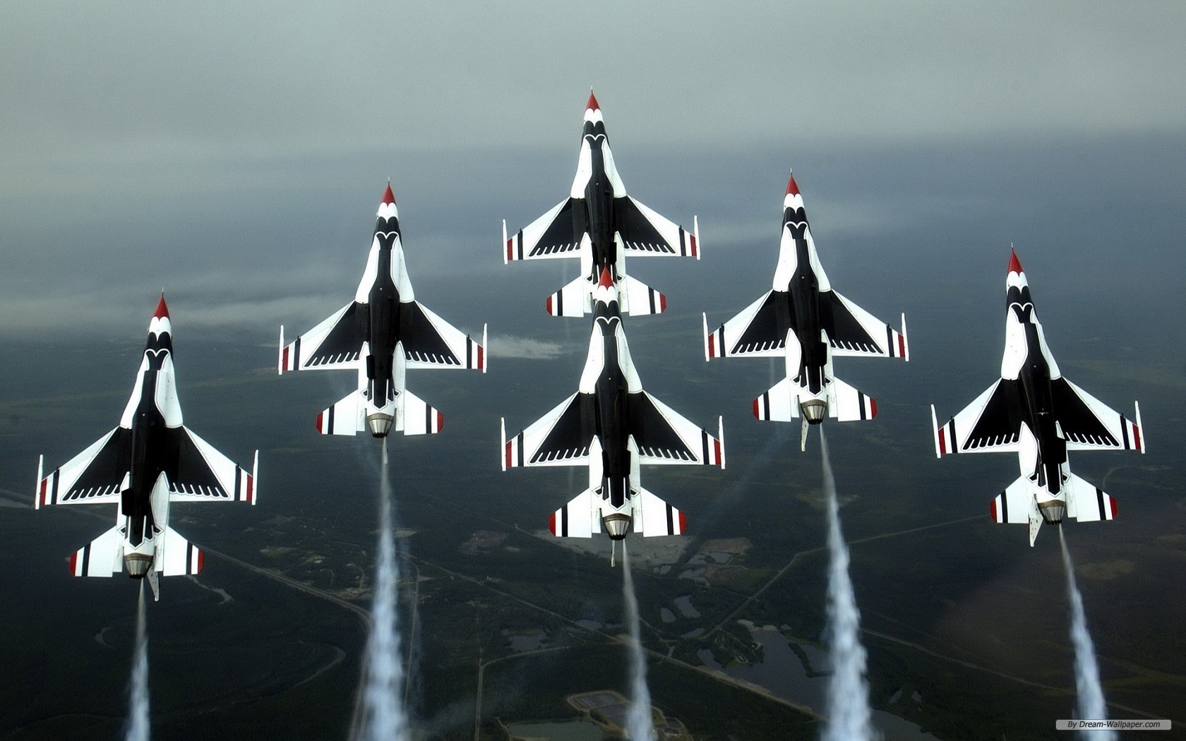 Photography wallpaper   USAF Thunderbirds wallpaper   1680x1050 1680x1050