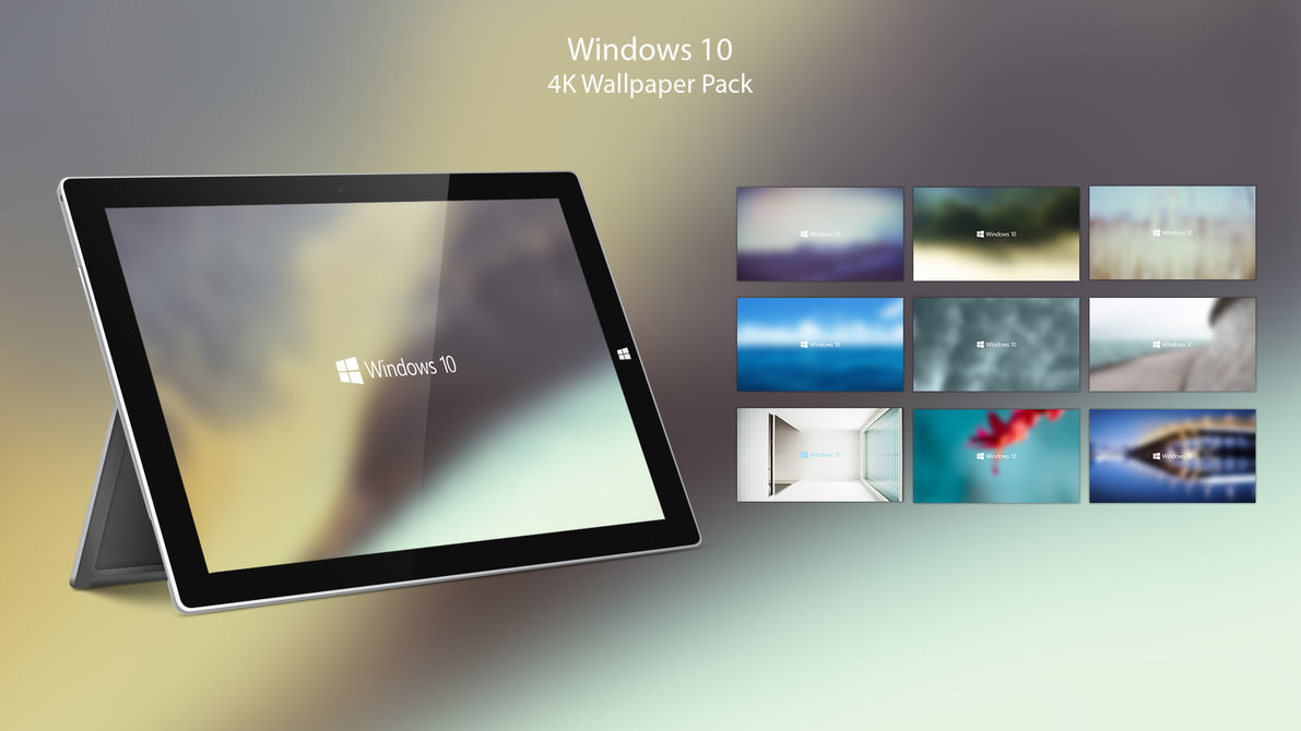 Windows 10 Wallpaper Pack: 4K Wallpaper Pack