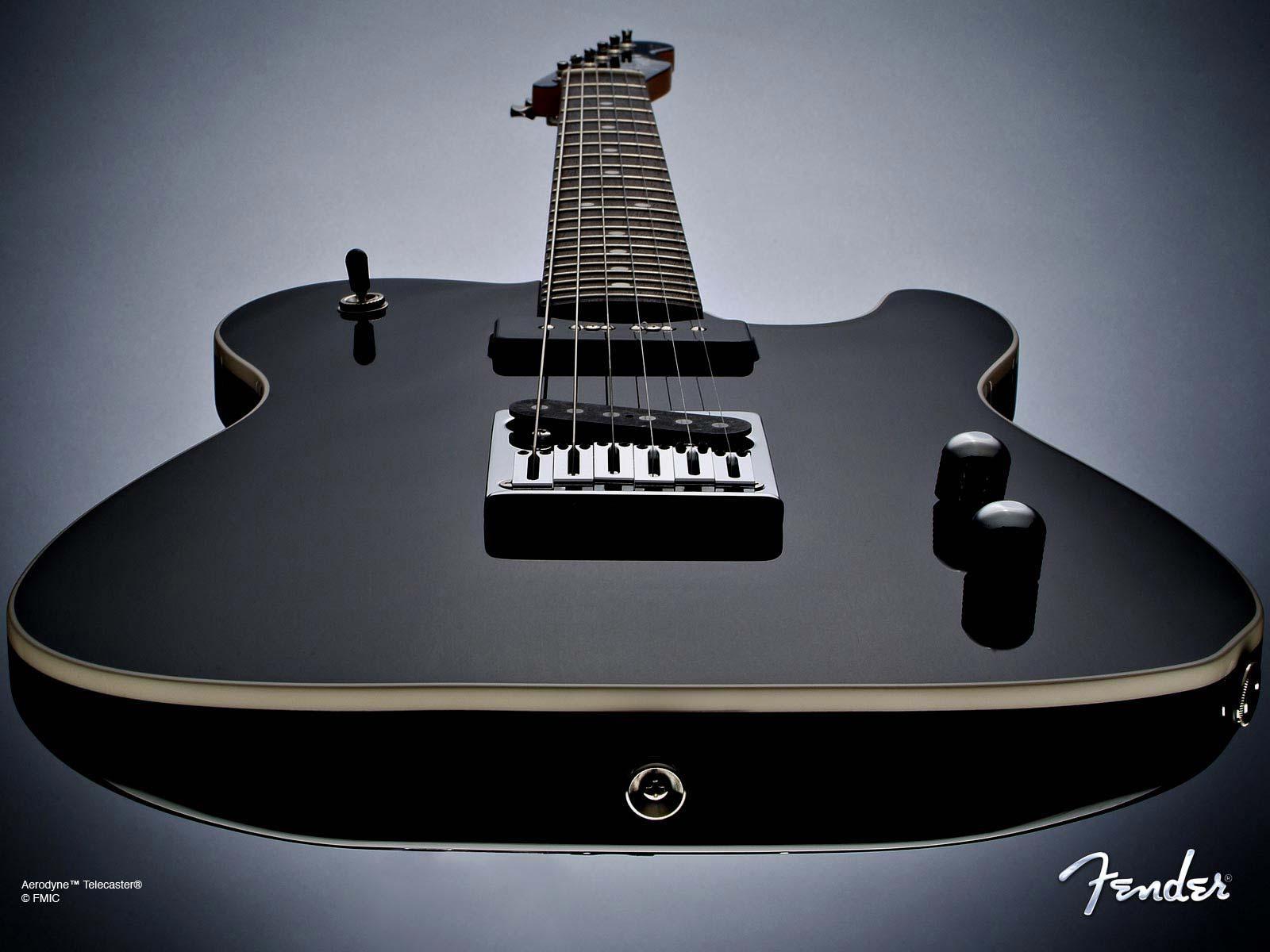 Black Fender Telecaster Desktop Wallpaper Background Desktop Wallpaper 1600x1200