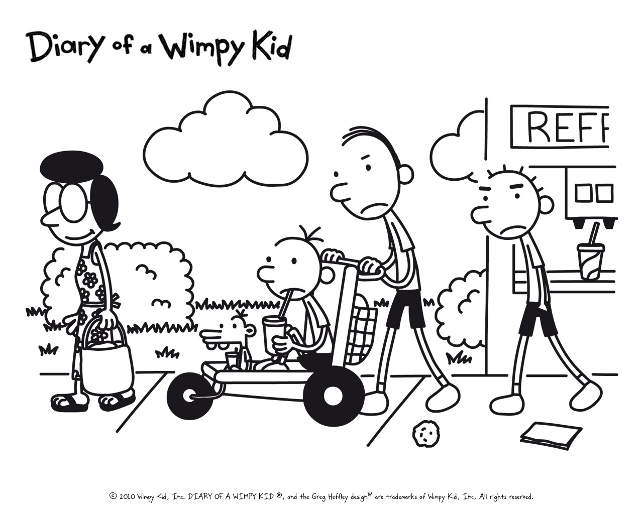 17] Diary Of A Wimpy Kid Dog Days Susan Heffley Wallpapers 1280x1024
