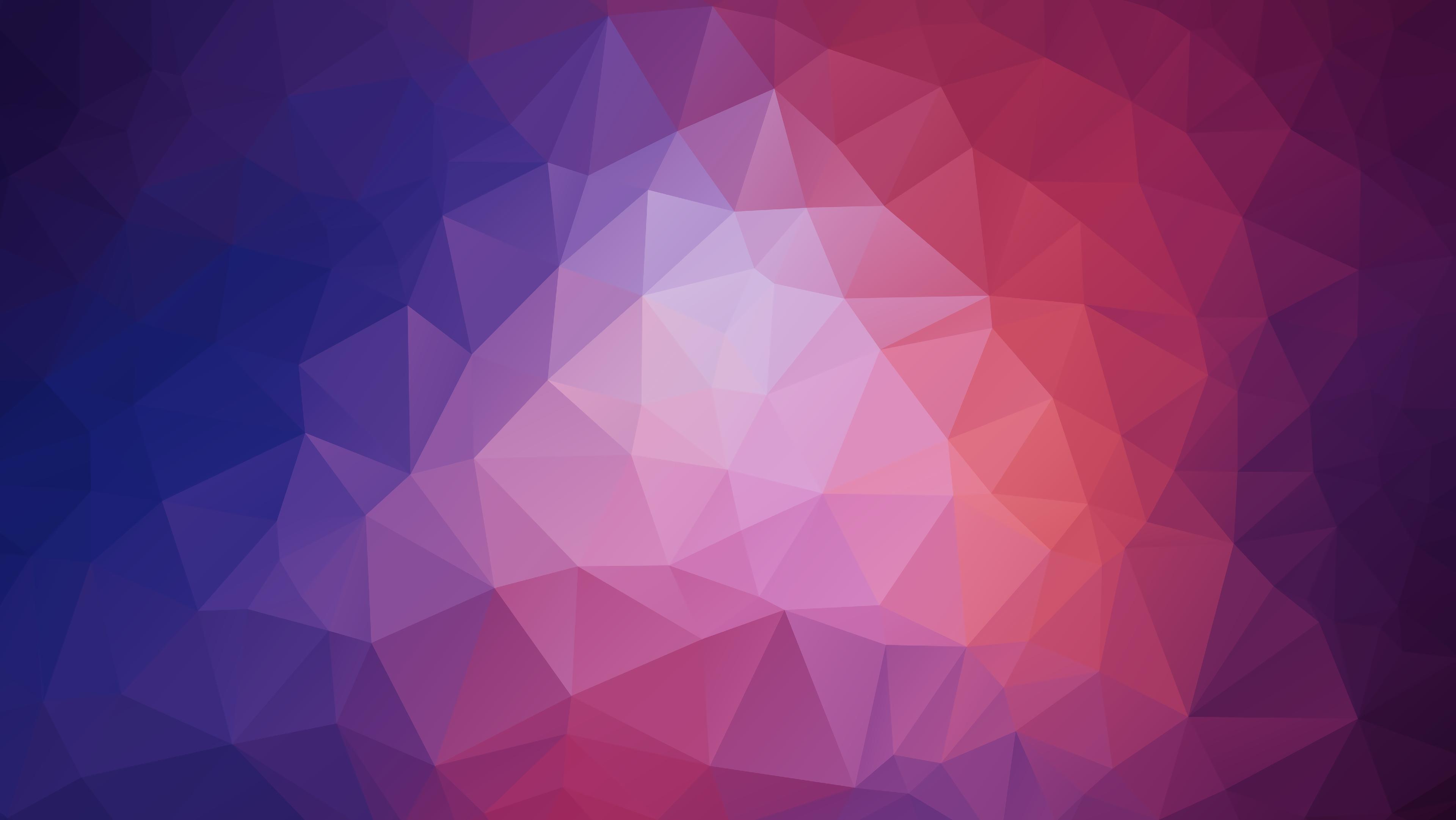 Wallpaper Polygon Triangles Geometric Patterns   Geometric 3840x2162
