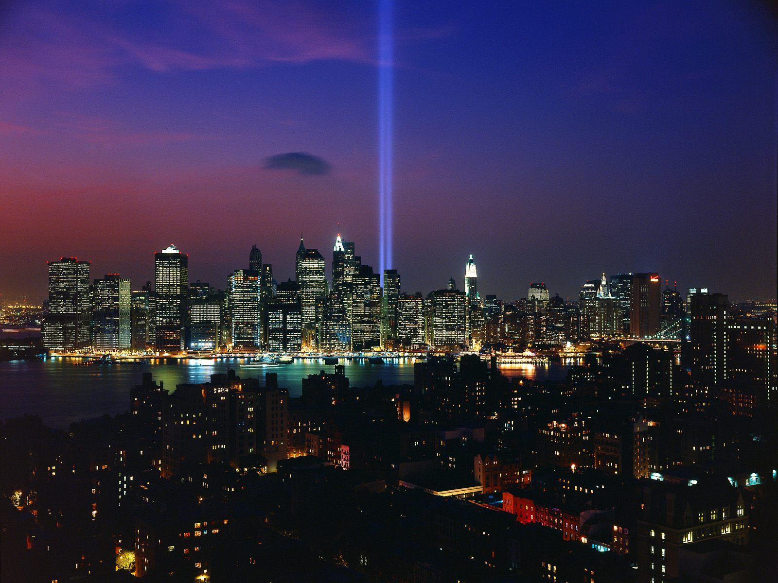 Tribute in Light September 11th Memorial Display New York City 1600x1200