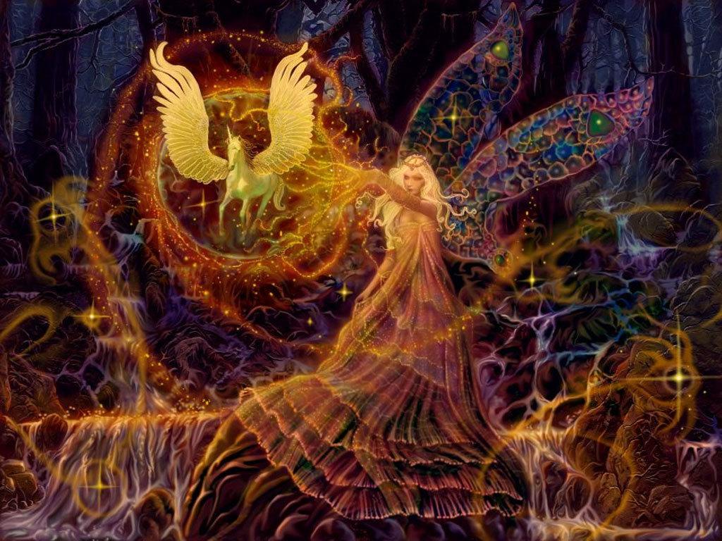 Fairy wallpaper desktop 1024x768