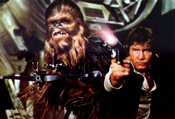 Han And Chewbacca Wallpaper