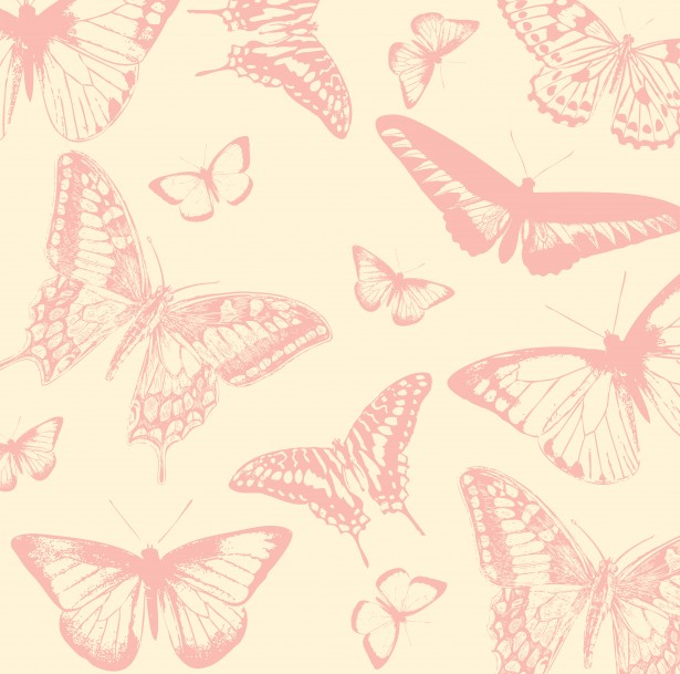 Butterfly Background Vintage Style Stock Photo   Public Domain 615x609