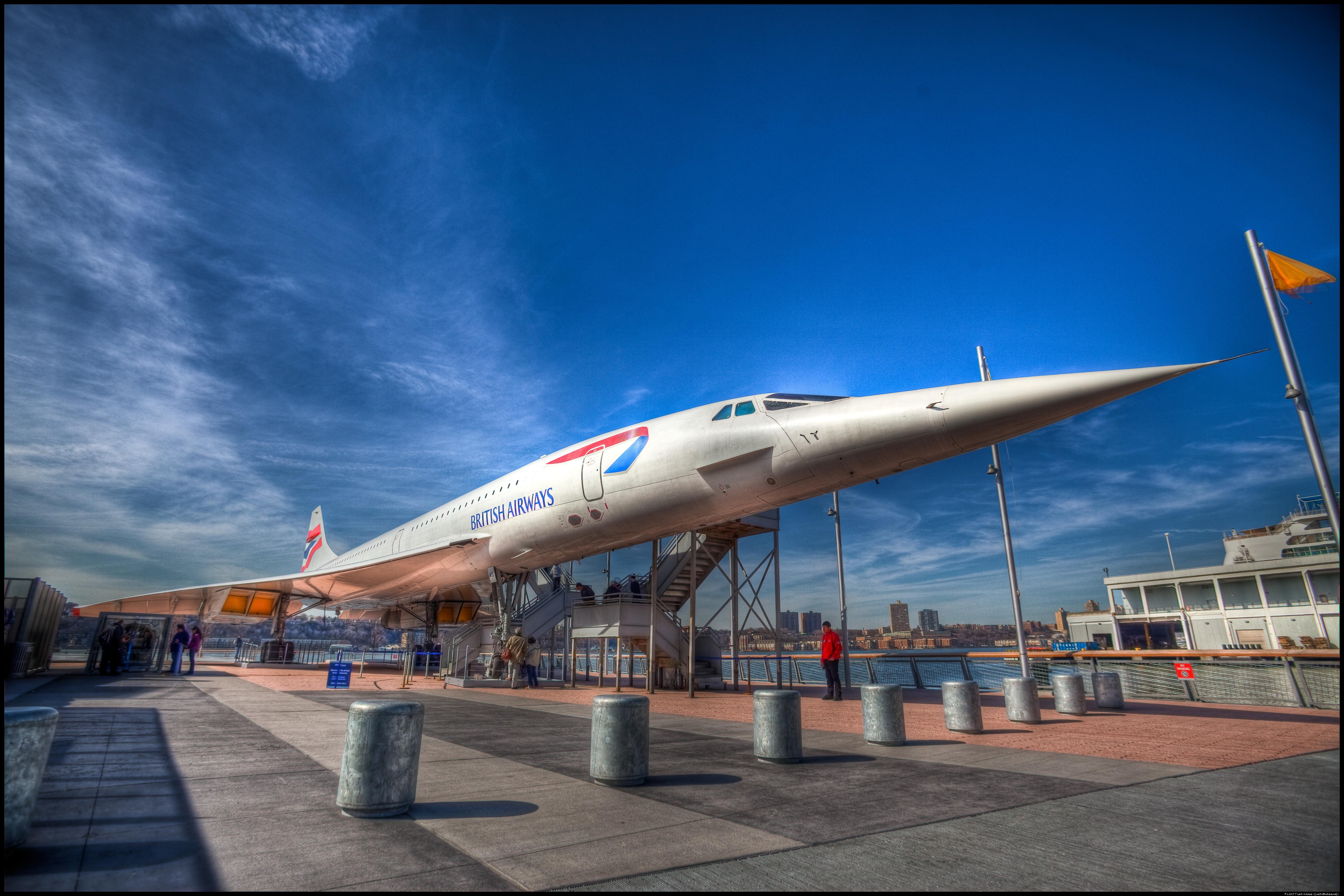 British Airways Concorde 5k Retina Ultra HD Wallpaper Background 5643x3762