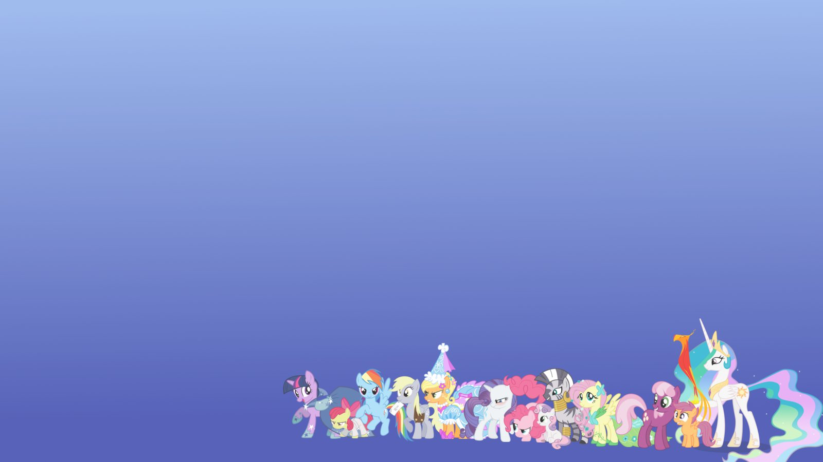 Free Download Cast Of My Little Pony Wallpaper Background