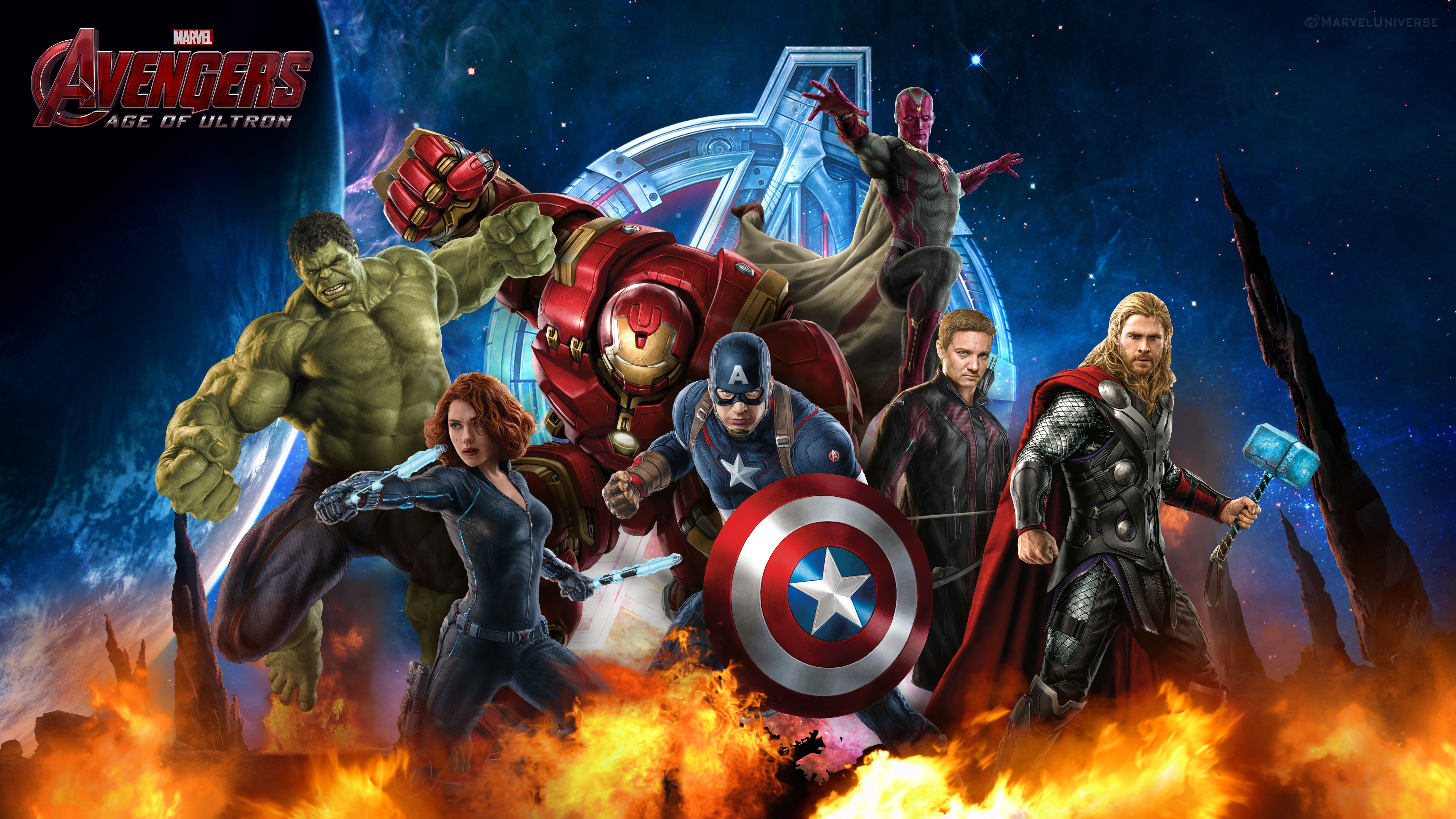 Age of Ultron You are downloading Avengers Age of Ultron wallpaper 14 5120x2880