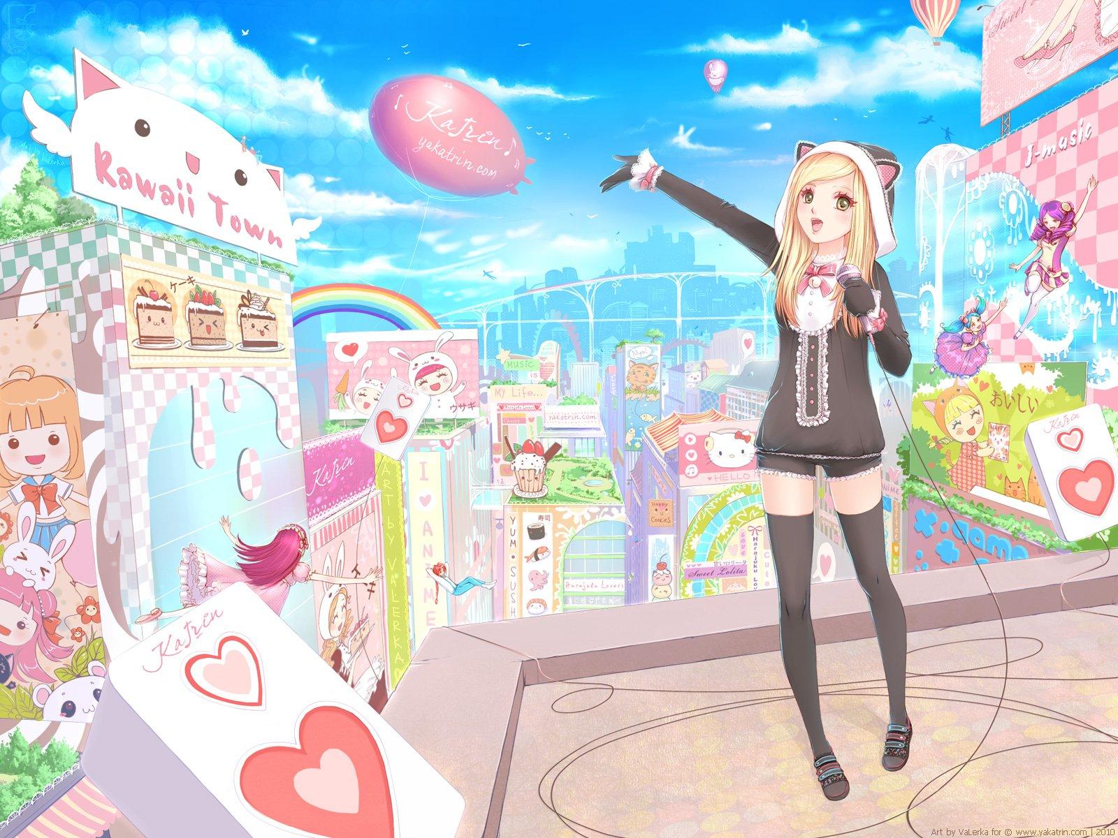 Free Download Kawaii Anime Images Kawaii Girl Hd Wallpaper And
