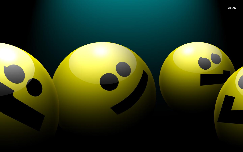 Smiley Faces 3D 1440x900