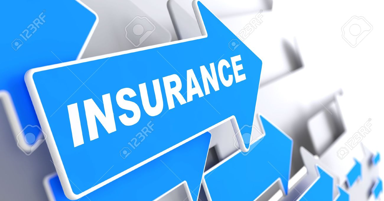 Insurance   Business Background Blue Arrow With Insurance 1300x680