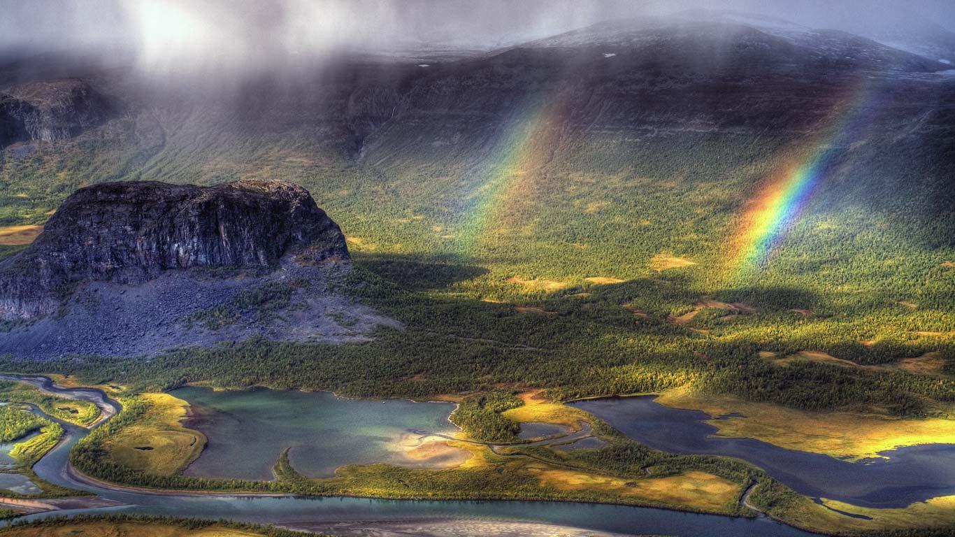 瑞典北博滕省萨勒克国家公园 (© Johan Assarsson/Getty ...