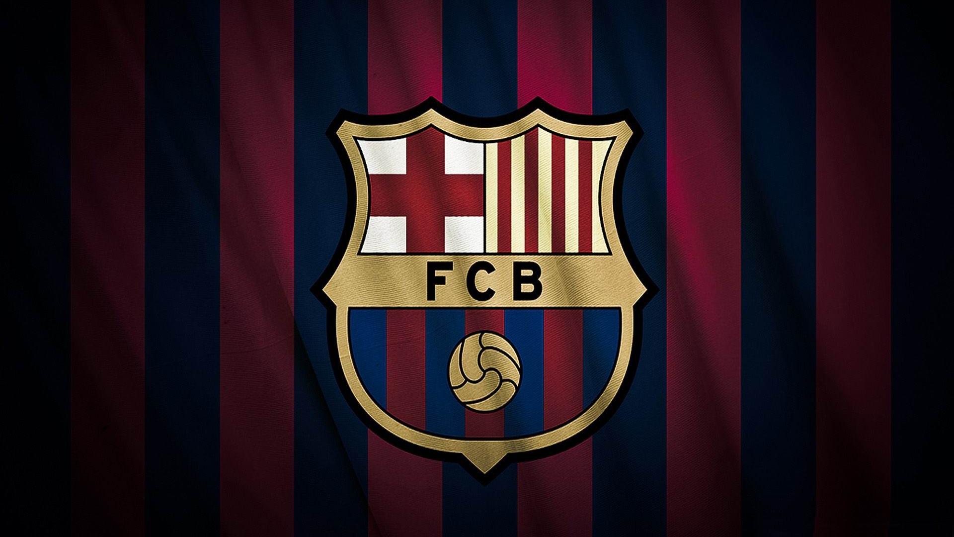 Barcelona Football Logo HD Wallpaper of Football 1920x1080