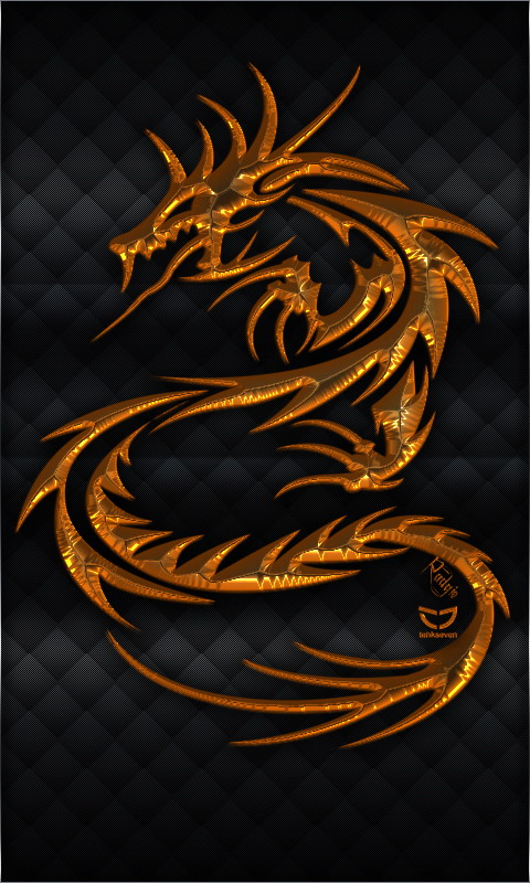 gold dragons wallpaper - photo #35