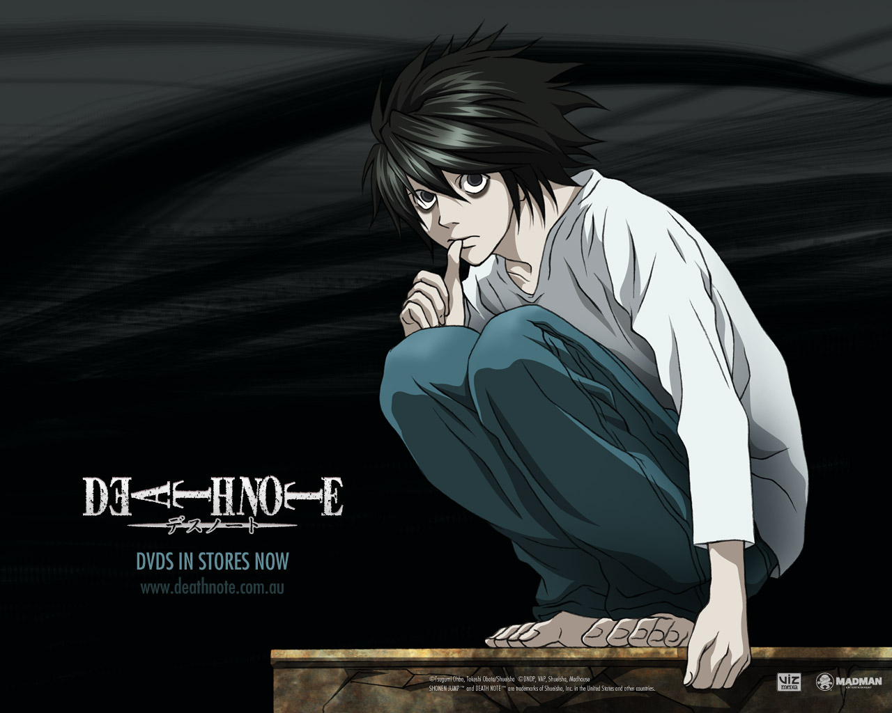75 L Wallpaper Death Note On Wallpapersafari