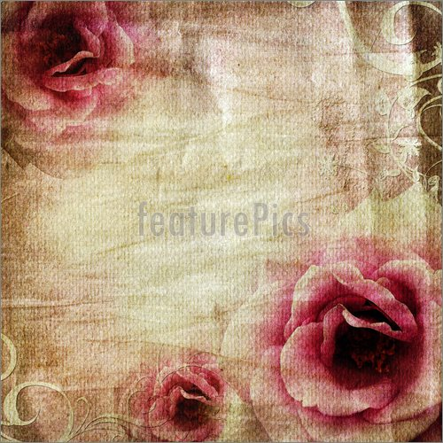 Wallpaper Borders on Illustration Of Vintage Paper Background With 500x500
