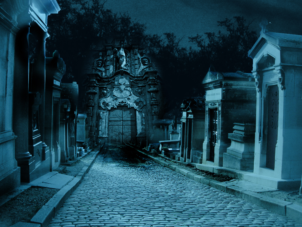 Free download premade background graveyard by H stock ...