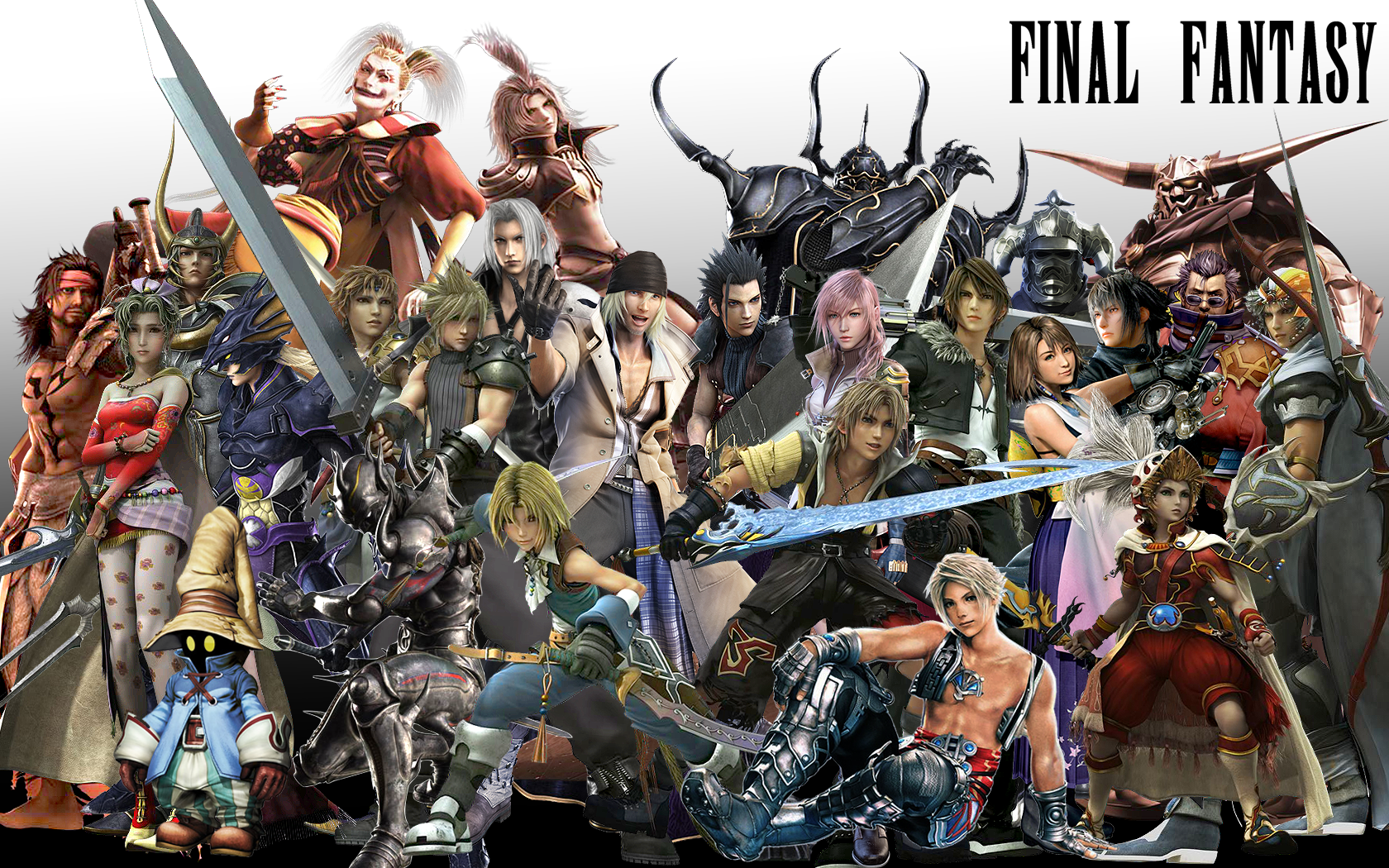 Final Fantasy Characters HD Wallpaper Background Images 1680x1050