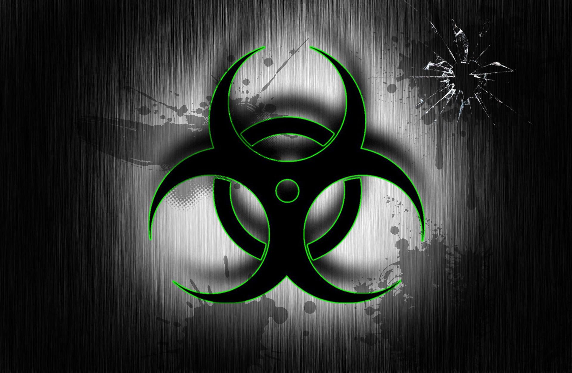 Blue Biohazard Wallpaper Biohazard wallpaper by azula 1920x1253