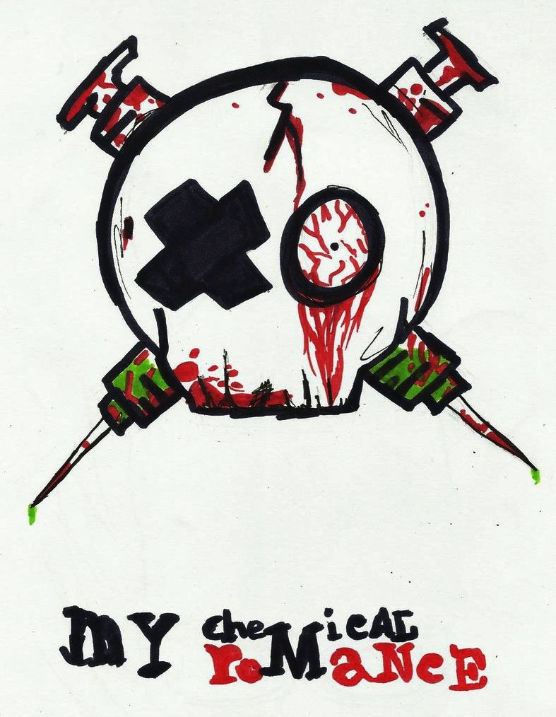 My Chemical Romance Logo My chemical romance logo by 787x1014