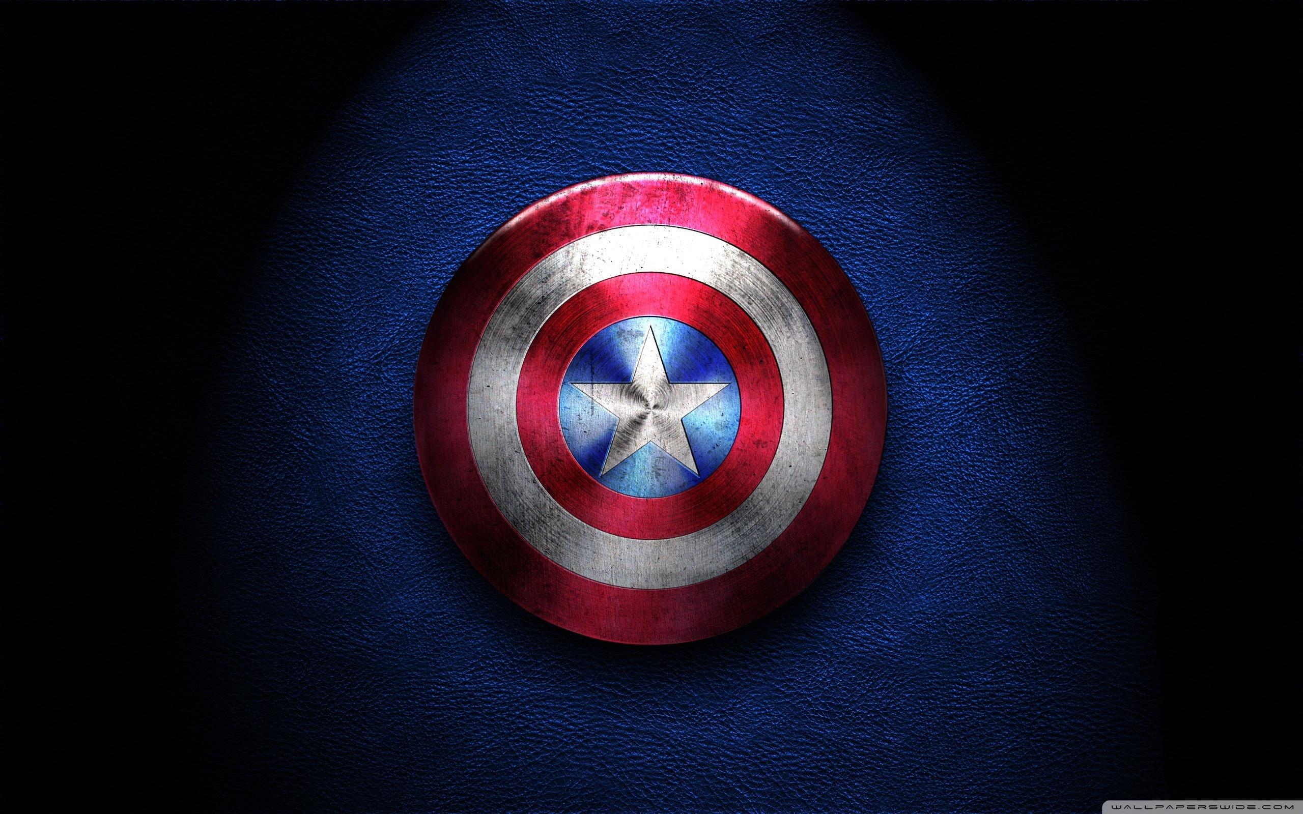Captain America Shield 4K HD Desktop Wallpaper for 4K Ultra HD 2560x1600