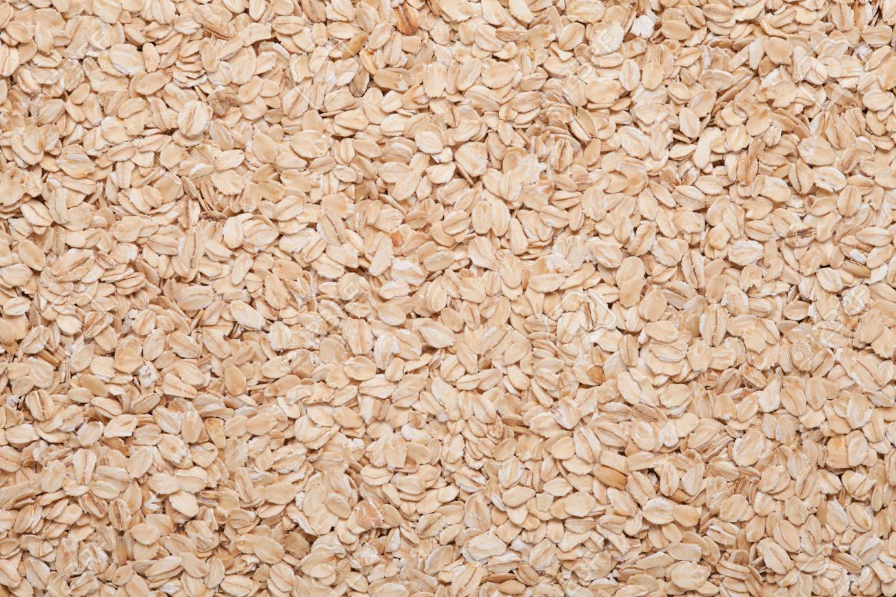 Oatmeal Background Light Brown Grain Food Texture Stock Photo 1300x866