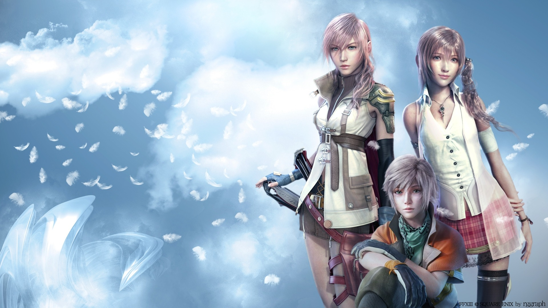 Download Final Fantasy Xiii Classic Game Wallpaper 1920x1080 Full HD 1920x1080