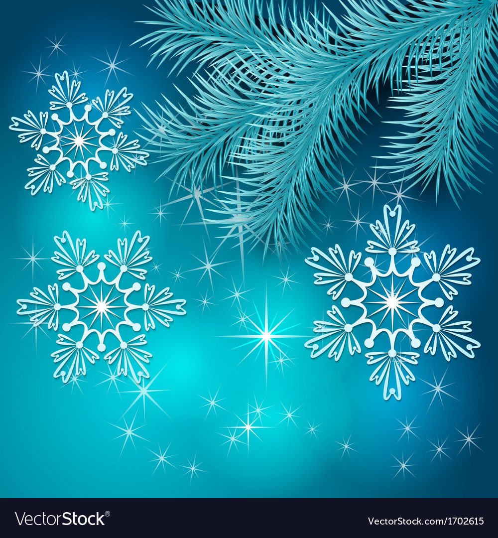 Blue Christmas Holiday BackGround Royalty Vector Image 1000x1080