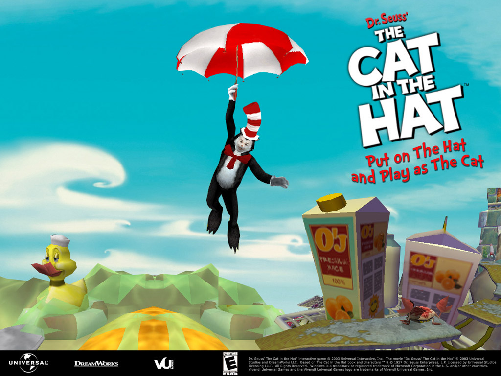 Dr Seuss Cat in the Hat 1024x768