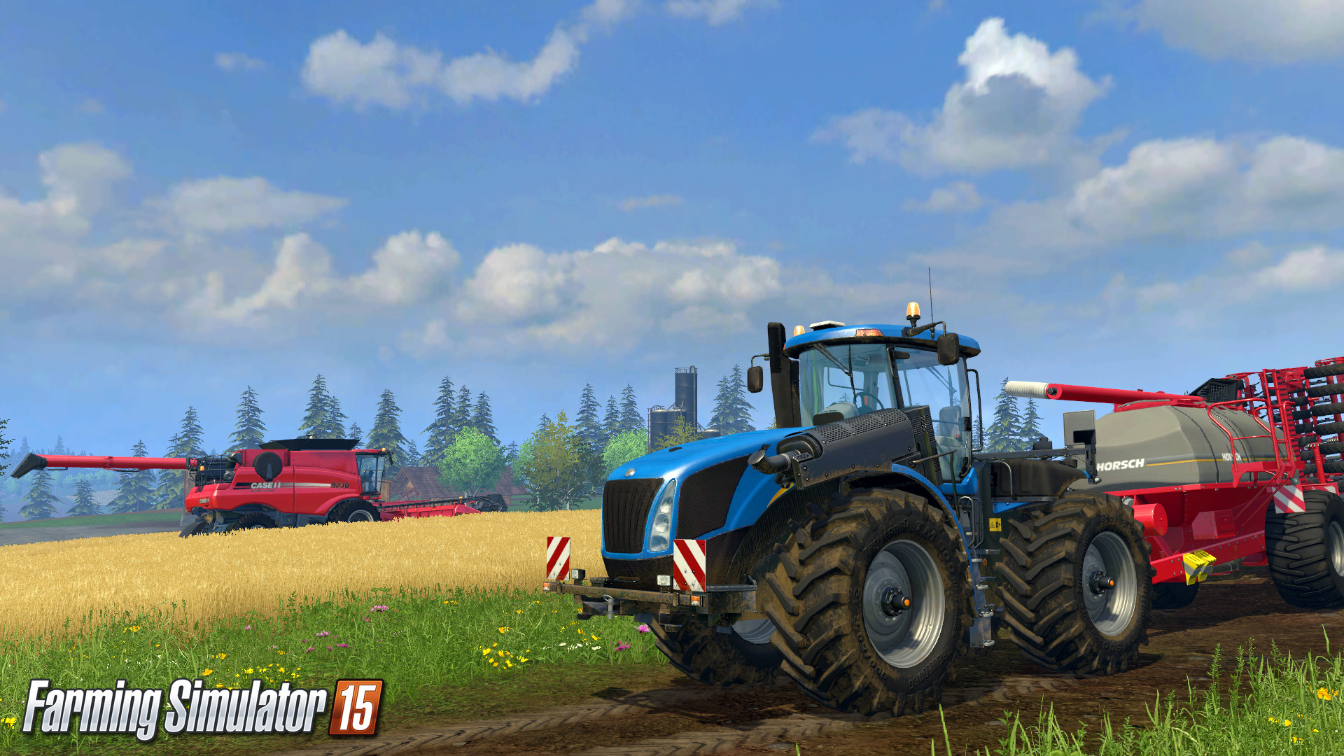 Farming Simulator 2015 HD Wallpapers Backgrounds 1920x1080