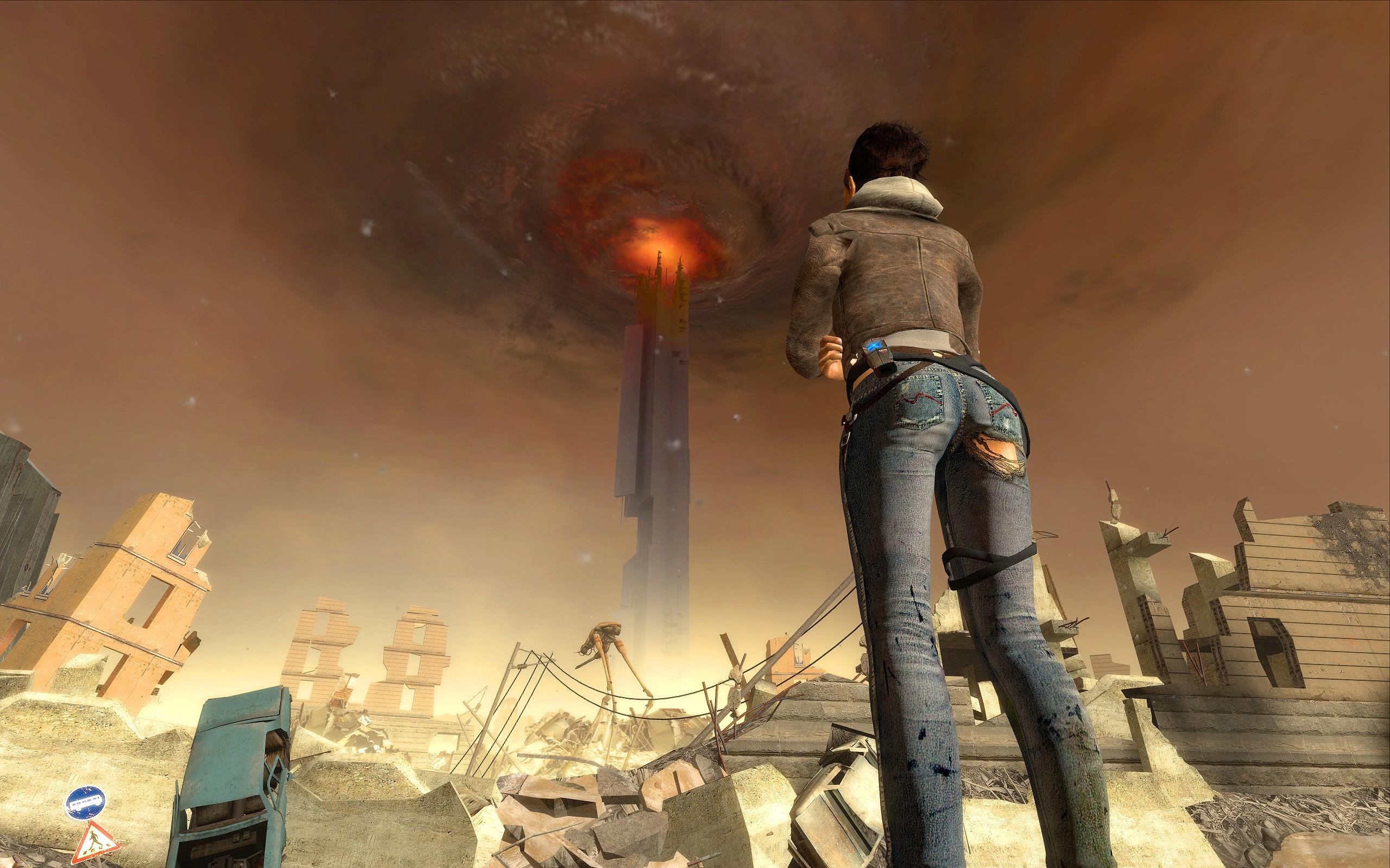 video Games Digital Art Half Life 2 Alyx Vance Wallpapers HD 2560x1600
