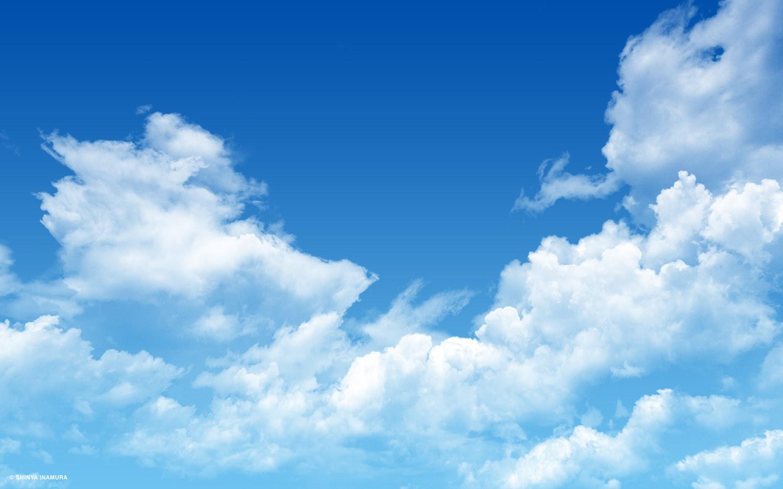 Blue Sky Wallpaper For Desktop Computer Wall2U 1600x1000