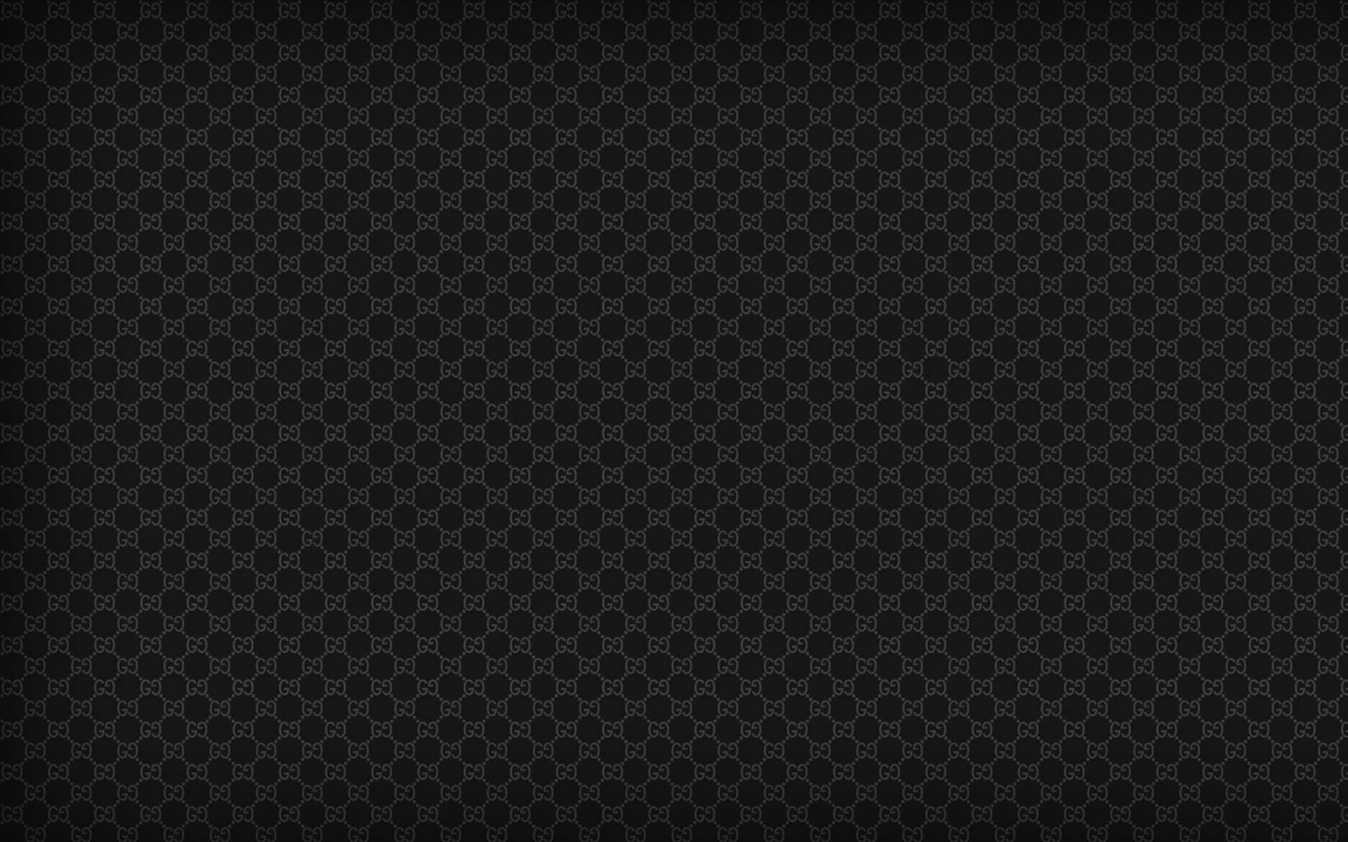 black gucci pattern ipad wallpaper ipad iphone hd wallpaper 1920x1200