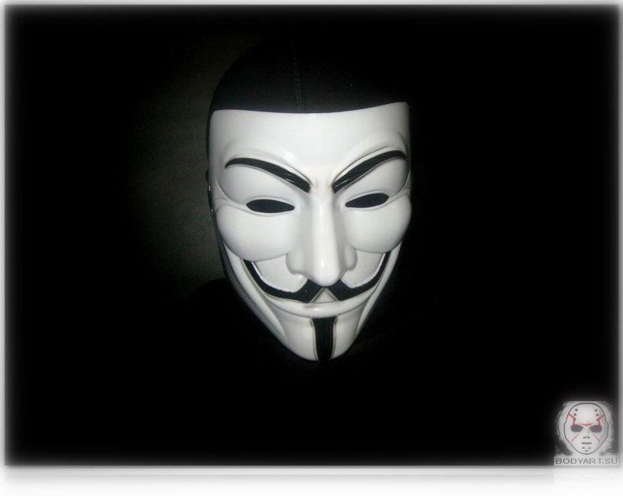 V For Vendetta Mask Wallpaper