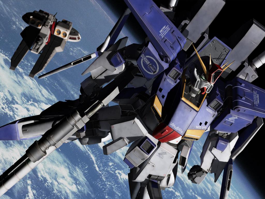 Gundam Walls and LOLS ZZ Gundam Wallpaper 1024x768