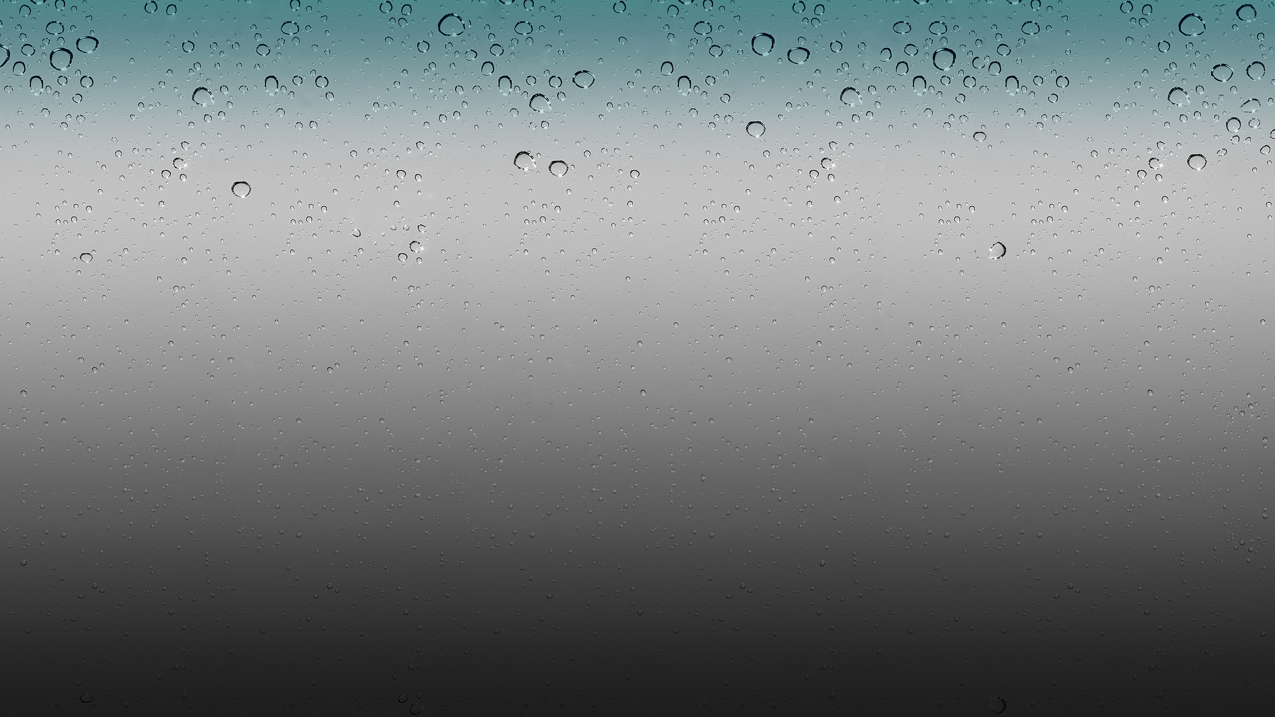 Apple Raindrops Wallpaper 2560x1440