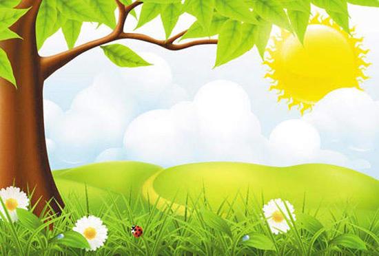 Nature Background Vector clip arts clipart   ClipartLogocom 550x372