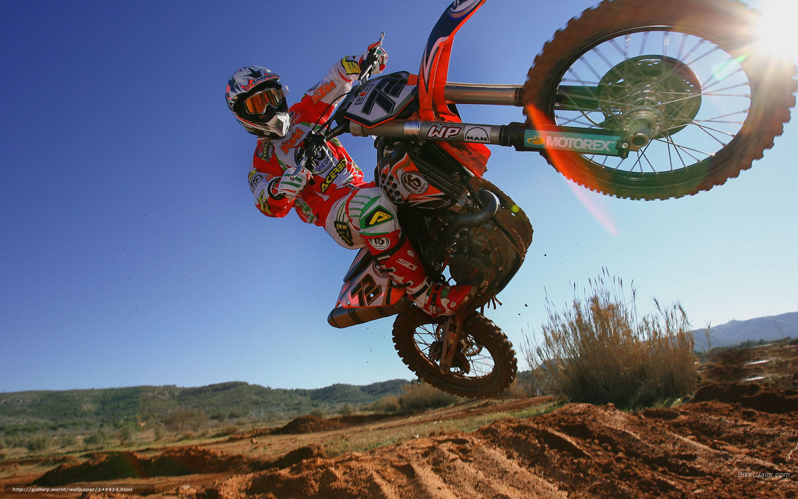 Download wallpaper KTM Motocross SX Stefan Everts MX Race Stefan 1600x1000