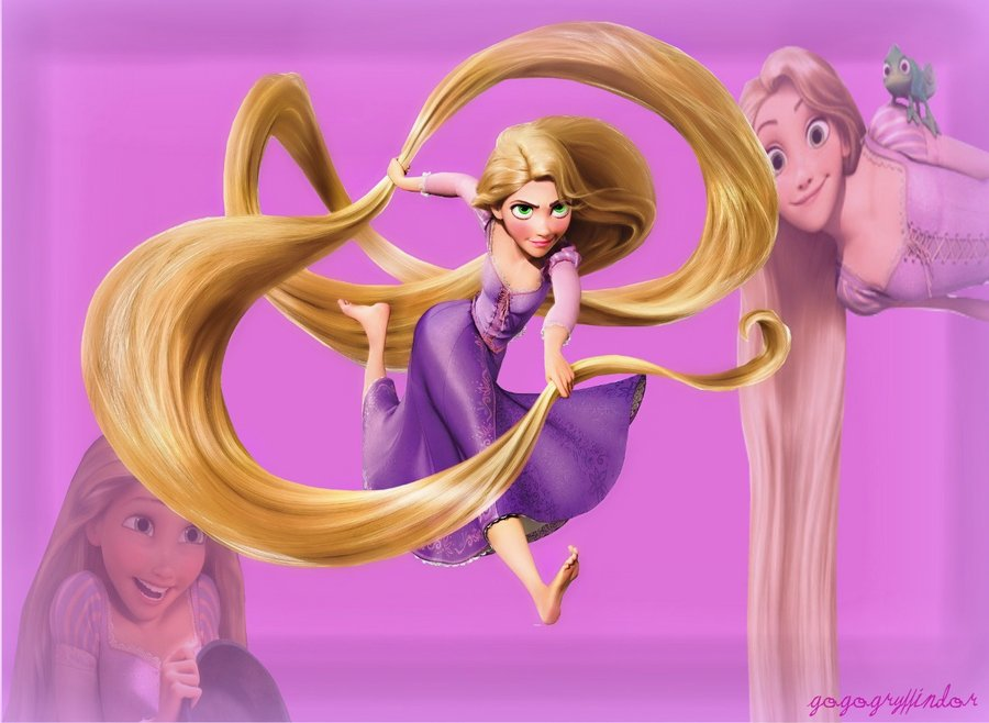 Rapunzel Wallpaper by gogogryffindor 900x658