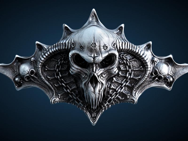 Skull 3d Wallpaper: Free Skull Wallpaper 3D