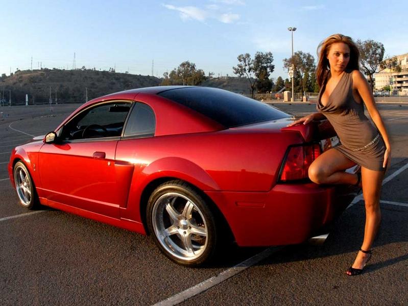 Ford Mustang Wallpaper With Girls Wallpapersafari