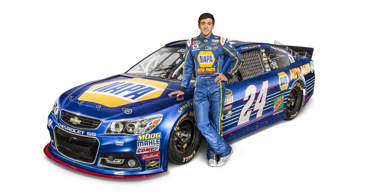 What Car Will Chase Elliot Drive In