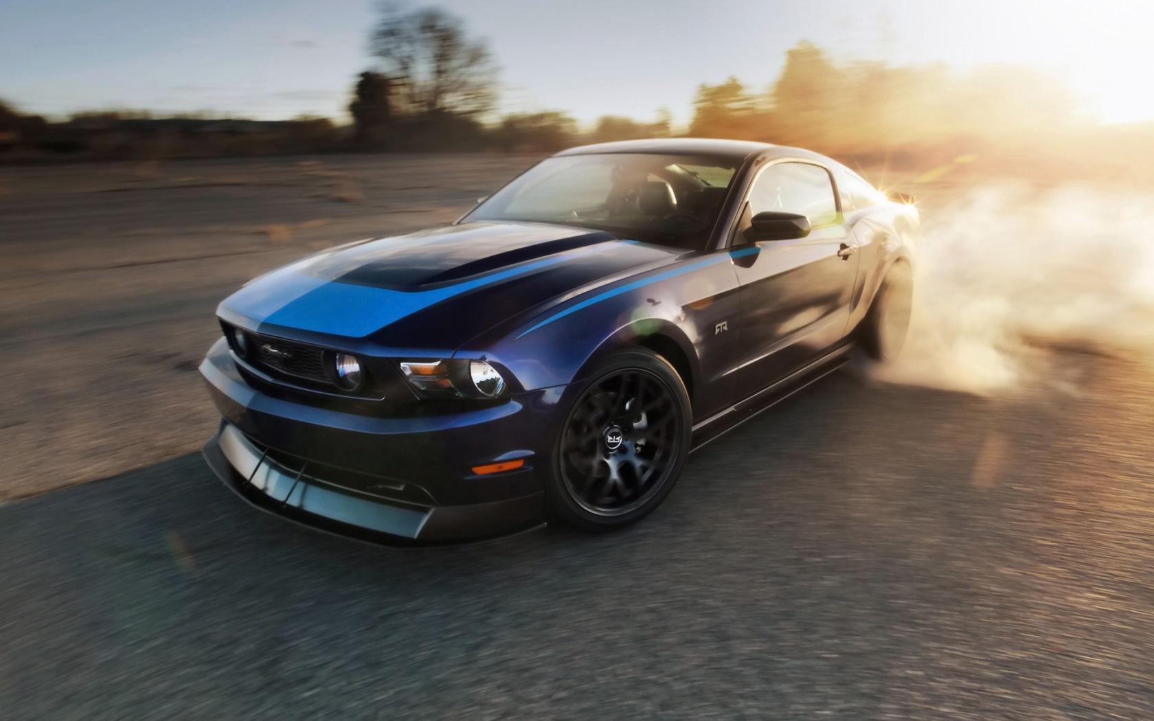 Ford Mustang Wallpaper Drift Car Desktop HD 1133   bwallescom 1680x1050