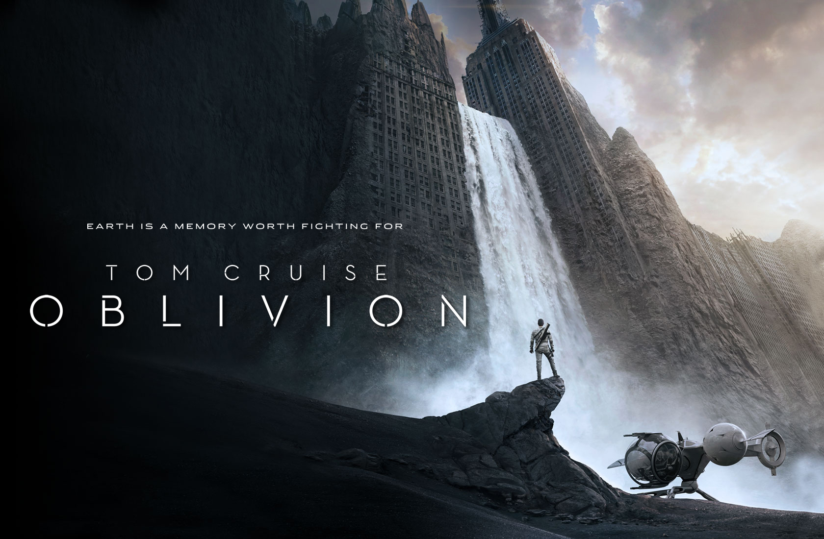 20 HD wallpapersscreenshots of Oblivion with Tom Cruise Movie 1680x1100