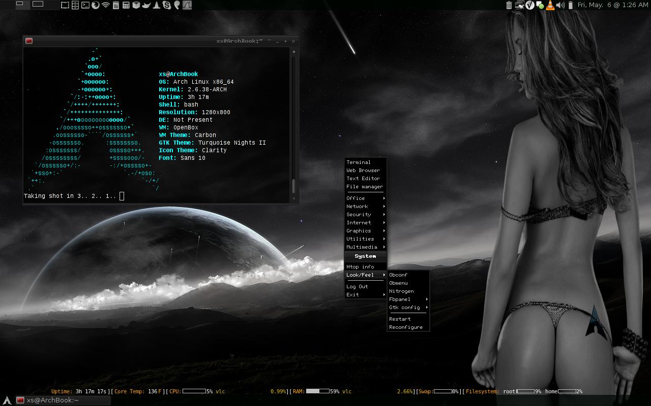 Arch Linux Wallpapers Desktop 1280x800