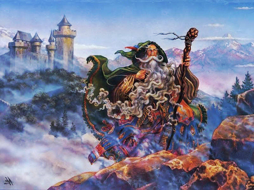 Fantasy Wizard Background 1 Hd Wallpapers: Wizards Wallpaper