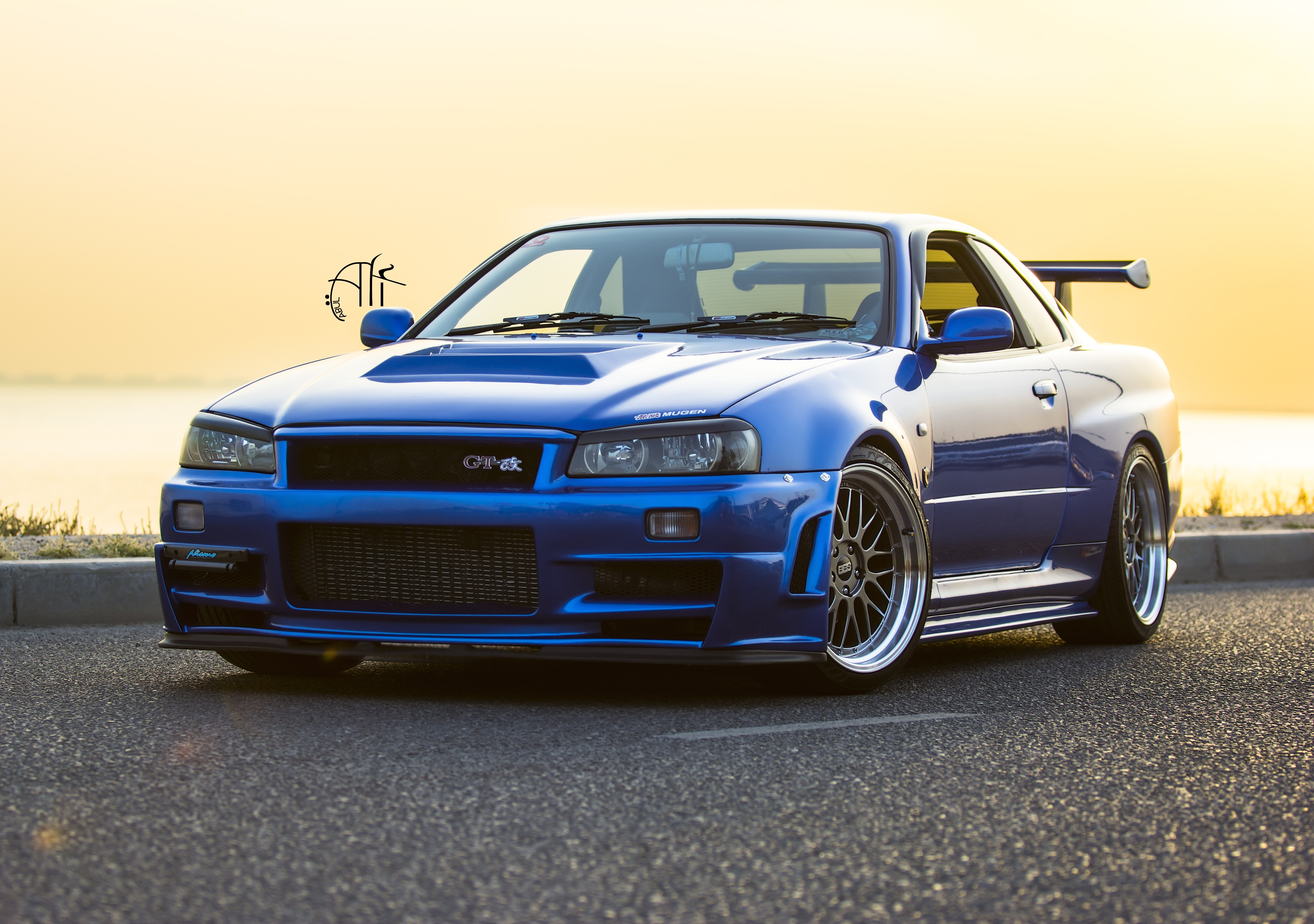 Home Cars HD Wallpapers Car Nissan Nissan Skyline GT R Tuning 5685x4000
