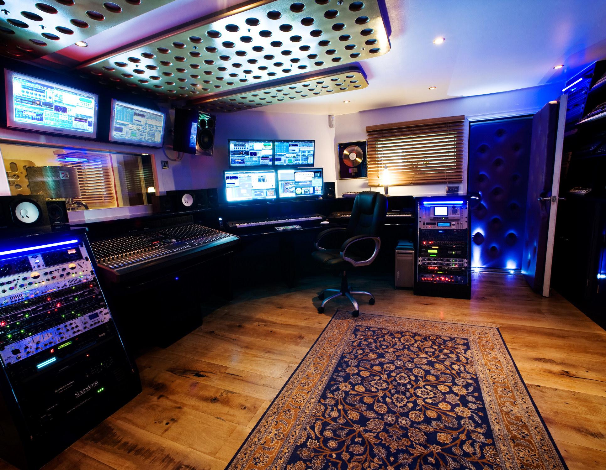 Cool Recording Studio Wallpapers 1932x1500